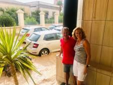 Bennekoms stel zit door modderstromen vast in Spaans hotel: 'Eén grote chaos'