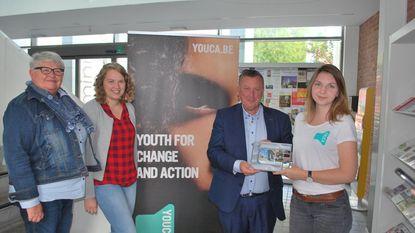 Luka als ambassadeur van YOUCA op inleefreis naar El Salvador