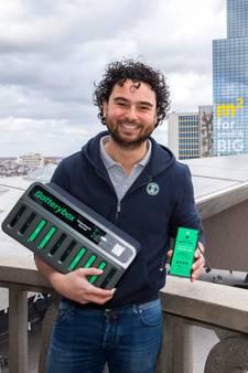 Powerbanks van Rotterdamse start-up nu ook in Capelle: 'Wij krijgen steeds meer vragen vanuit randgemeenten'