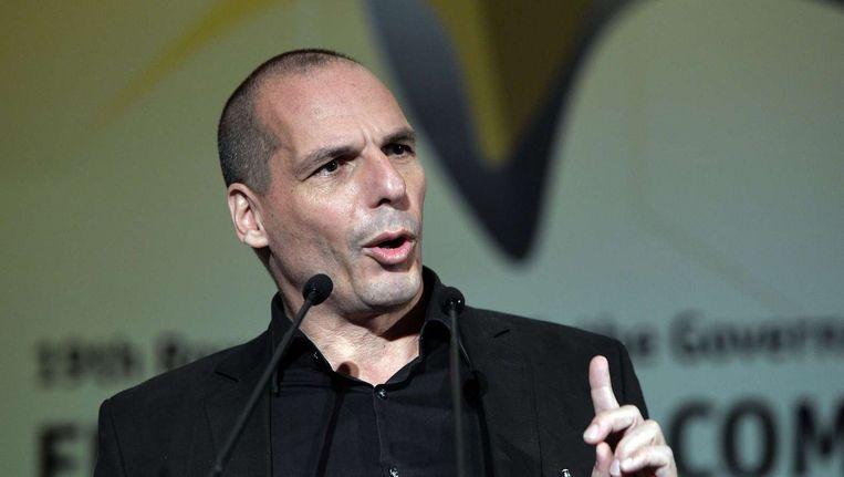 Varoufakis Beeld afp