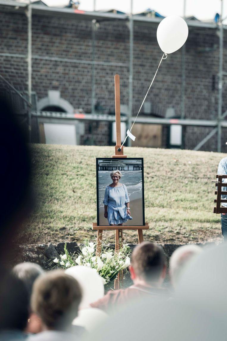 Herdenking van Gerty Vanhoef.