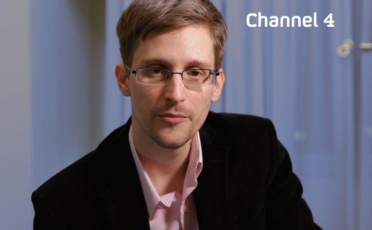 Klokkenluider Edward Snowden. Beeld AFP