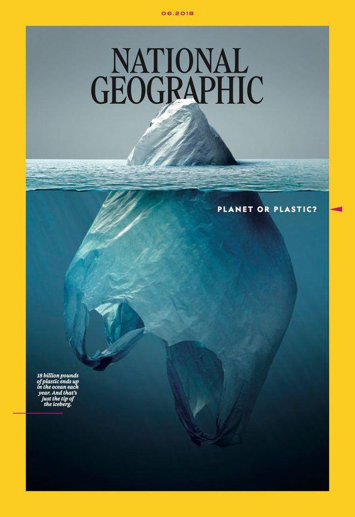 De cover van National Geographic voor de editie van juni