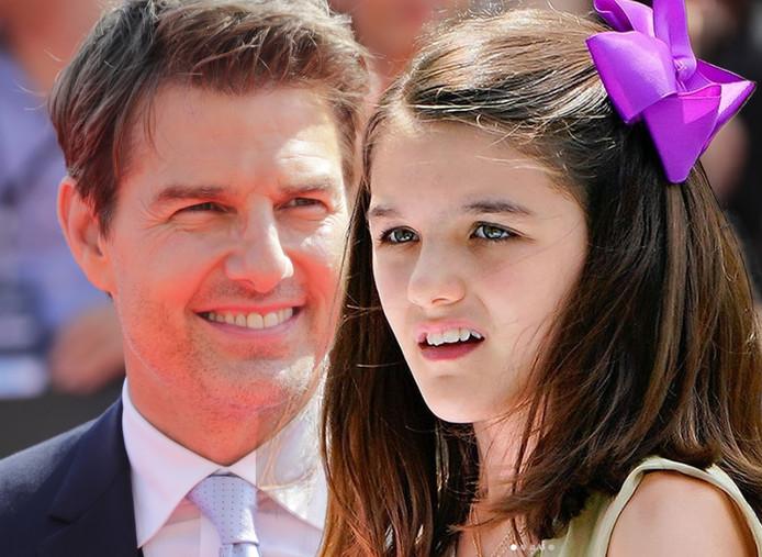 Tom Cruise Wil Dochter Suri 12 Pas Weer Zien Als Ze Zich Bekeert