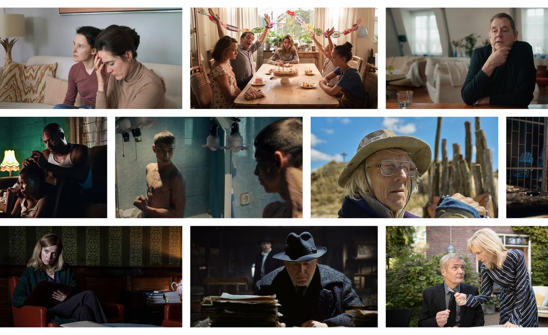 Beelden uit negen films die op het veertigste Nederlands Film Festival te zien zijn. Beeld