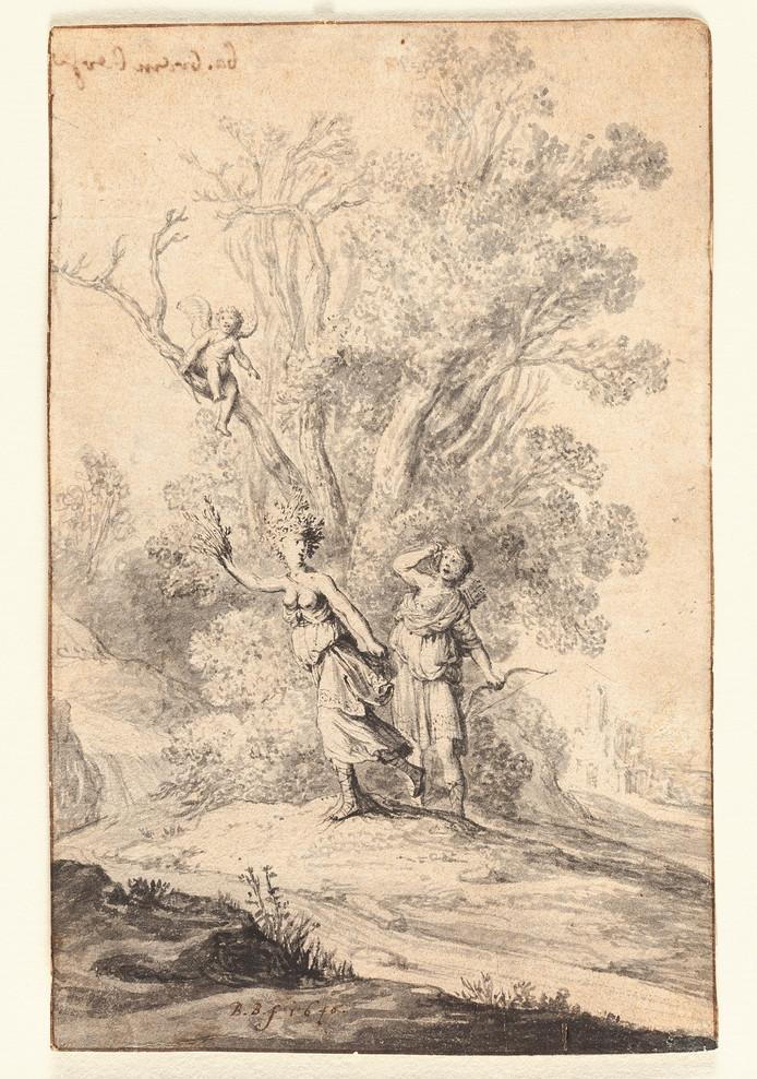 Apollo en Daphne is de laatste aanwinst van museum De Waag in Deventer, dat nu vier werken bezit van de zeventiende-eeuwse kunstenaar Bartholomeus Breenbergh, die zijn eerste negen jaar in Deventer woonde.