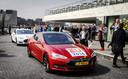 EU-ministers arriveren per zelfrijdende auto bij de Innovation Expo, het grootste innovatie-event van Nederland.