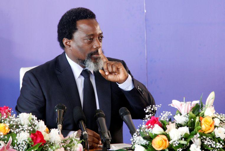 President van Congo, Joseph Kabila.