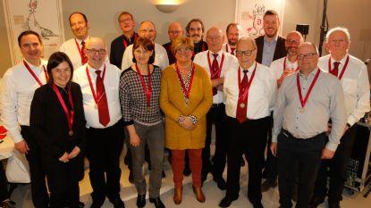 Koninklijke Fanfare Sint-Catharina huldigt verdienstelijke leden: Jef Rabas Mertens al 75 jaar lid