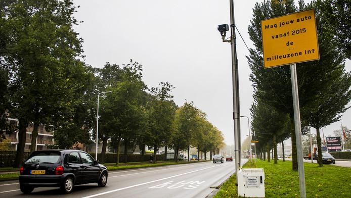 Eerder werd in de Utrechtse binnenstad al een milieuzone ingevoerd.