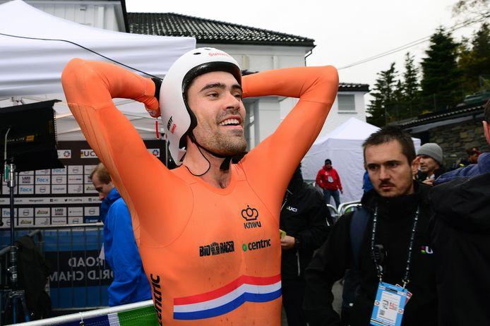 Tom Dumoulin werd in 2017 wereldkampioen op de tijdrit.