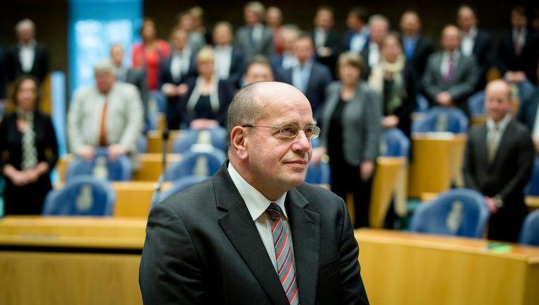 Voormalig staatssectaris Fred Teeven ligt onder vuur door vermeende uitspraken in De Groene Amsterdammer. Beeld anp