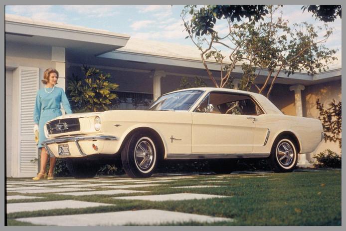 Een legendarische Mustang.