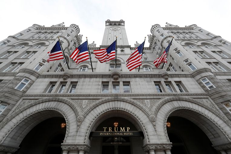 Het Trump International Hotel in Washington DC.