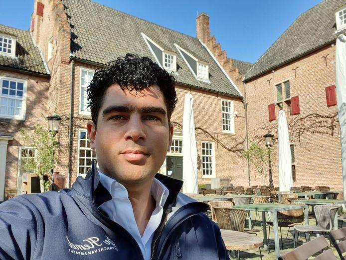 Selmar de Roo, horeca-ondernemer in Nijmegen.