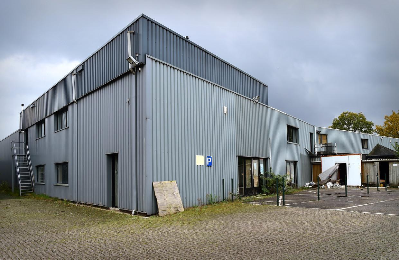De sportschool in Hengelo waar volgens curator Scholl drugsgeld werd witgewassen.  Beeld Marcel van den Bergh / de Volkskrant