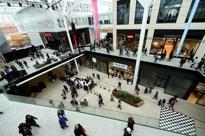 Le centre commercial DOCKS, à Bruxelles.