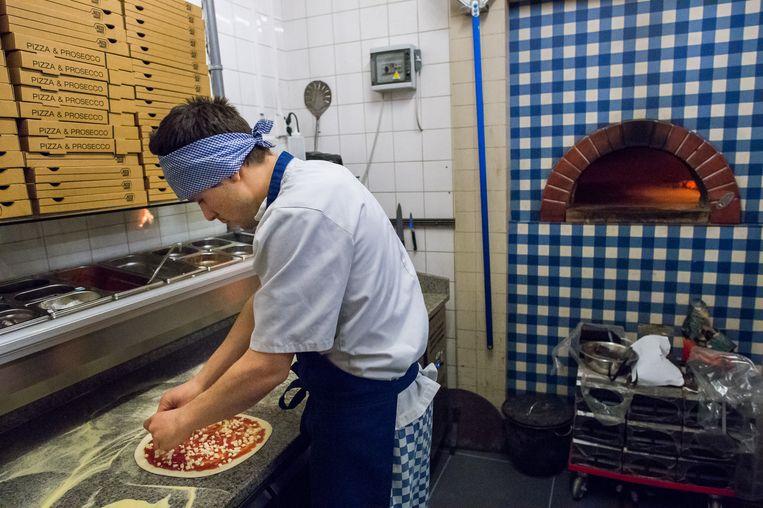 De Pizzabakkers Beeld Mats van Soolingen
