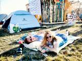 Camping op Berlijnplein in Utrecht is eigenlijk een verjaardagsfeestje