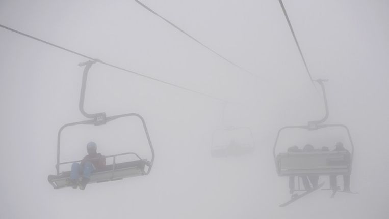 Mist in Sotsji. Beeld afp