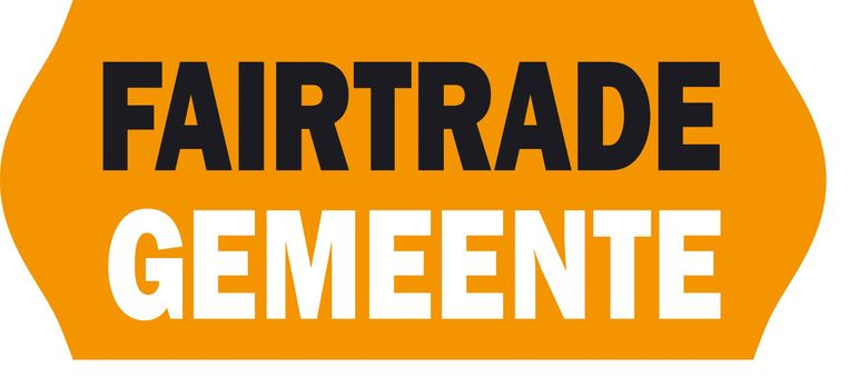 Het logo van Fair Trade gemeente