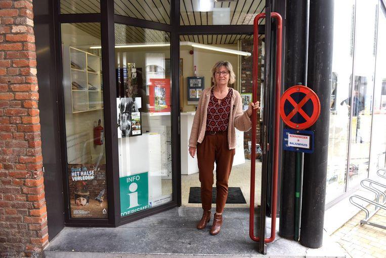 Bij Lutgarde De Borre staat de deur letterlijk open.