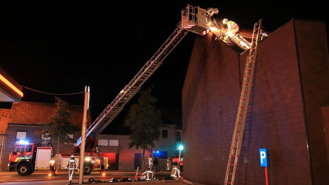 Brand op zolderkamer door defect aan boiler