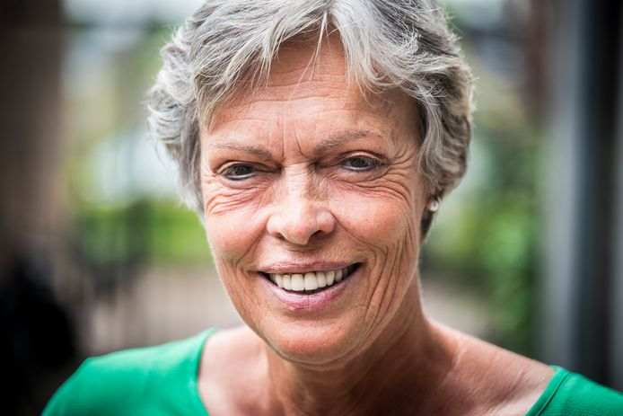 Gerda Hofste is fel tegen de 1,5 meter samenleving.
