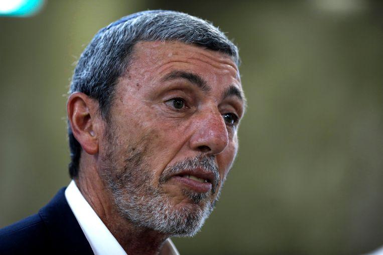 Israëlisch minister van Onderwijs Rafi Peretz.