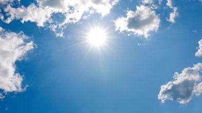 Een hele week lentezonnetje, met vrijdag tot 13 graden