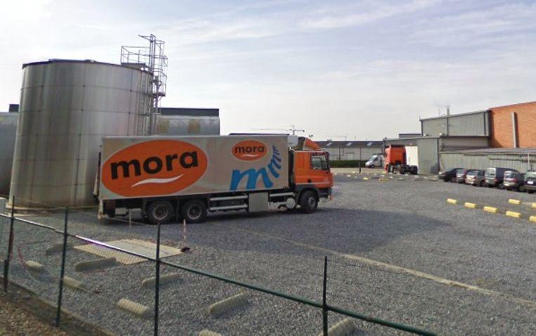 De vestiging van Mora in Mol. In Mol worden bekende snacks als de Viandelle, de Sito Stick en de saté gemaakt.
