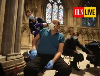 """LIVE. Kritiek op verminderde levering Pfizer: """"Onbegrijpelijk en onaanvaardbaar"""" - Engelse kerken worden ingezet als vaccinatiecentra"""