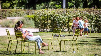 Goed nieuws: groene stoeltjes breiden (zo goed als zeker) uit naar andere parken