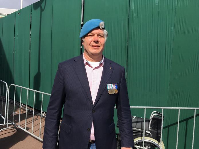 Pim van der Velden, voorzitter van de stichting Veteranen Hart van Brabant.