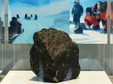 Une météorite de 18 kg exposée au Muséum des Sciences naturelles