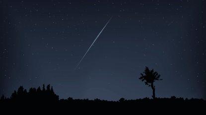 Hier kan je komende nacht het meeste vallende sterren spotten (tot één per minuut)