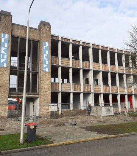 Schoolgebouw Het Element gaat tegen de grond