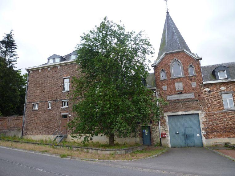De ingang van de abdijsite van Florival.