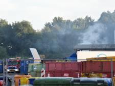 Veel rook door brand in hoop afval in Nieuwegein