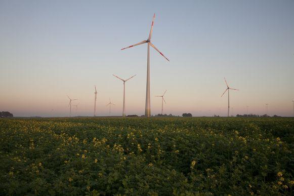 Storm en Elicio plannen de bouw van een windturbinepark langs de E40.