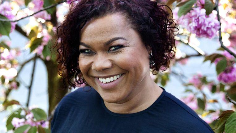 Anousha Nzume: 'Het gaat niet om individuen, ik leg niemand langs een racisme-graadmeter' Beeld Ernst Coppejans