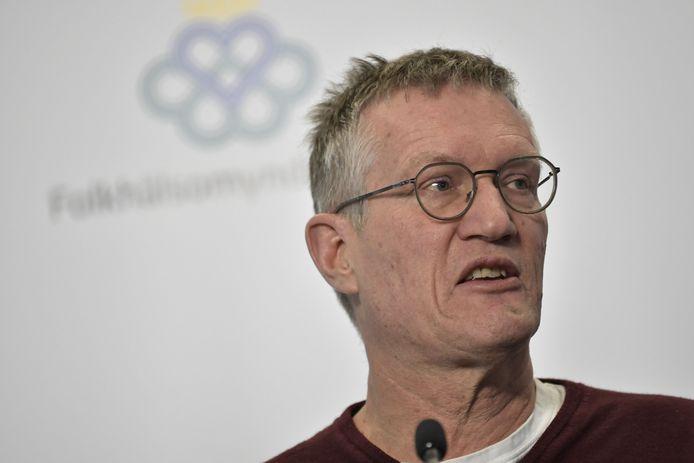 De Zweedse staatsepidemioloog Anders Tegnell.