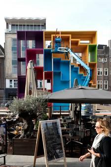 Kleurrijk DDW-bouwwerk op Markt in Eindhoven