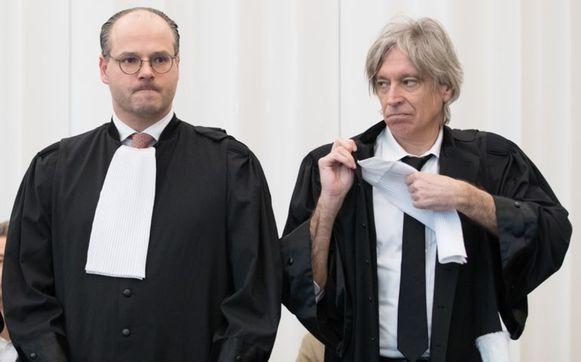 Walter Van Steenbrugge (rechts)