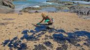 Minder olie op Braziliaanse stranden