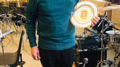 Achiel al zeventig jaar muzikant bij De Heidebloem