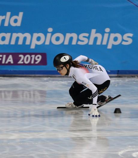 Choi Min-jeong wereldkampioene op 1500 meter