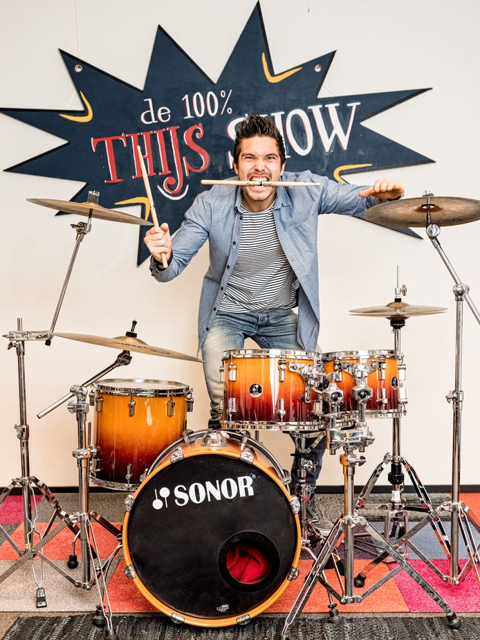 Thijs Lindhout: inspirator, drummer, spreker én ondernemer.