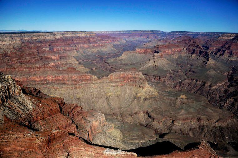 Zicht op het Amerikaanse Grand Canyon National Park.