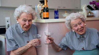 Ze zouden samen 100 worden in hun appartementje in Sint-Maartensdal